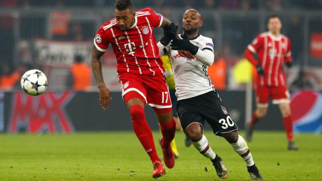 Com Vágner Love em campo, Besiktas é 'humilhado' pelo Bayern