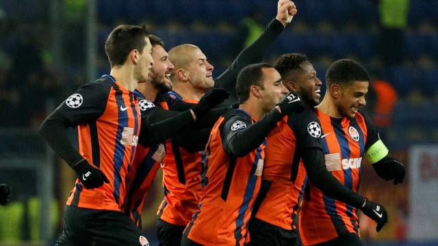 Com gol brasileiro, Shakhtar vence a Roma e leva vantagem para Itália