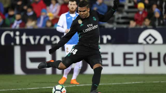 Casemiro marca, e time misto do Real Madrid vence no Espanhol