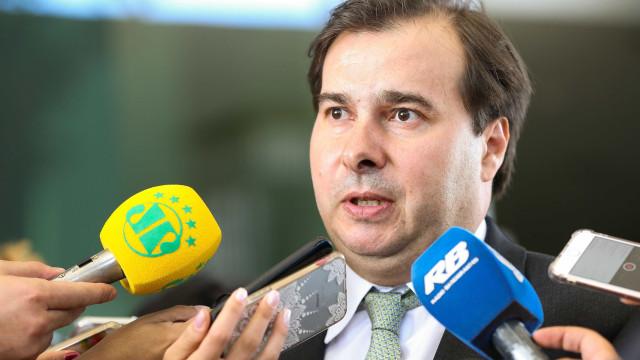 Dinheiro para intervenção no Rio será liberado no 2º semestre, diz Maia