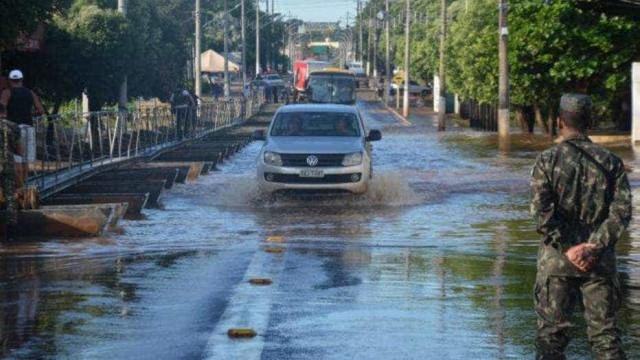 Cidades de MS realizam força-tarefa para ajudar vítimas de temporal