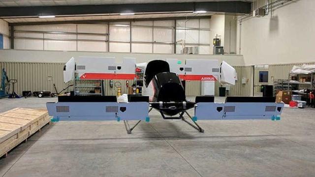 Airbus mostra primeiro táxi voador do mundo