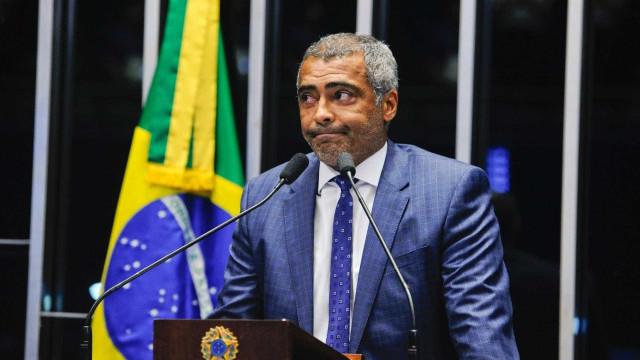 Senador Romário teria ocultado bens para burlar dívidas milionárias