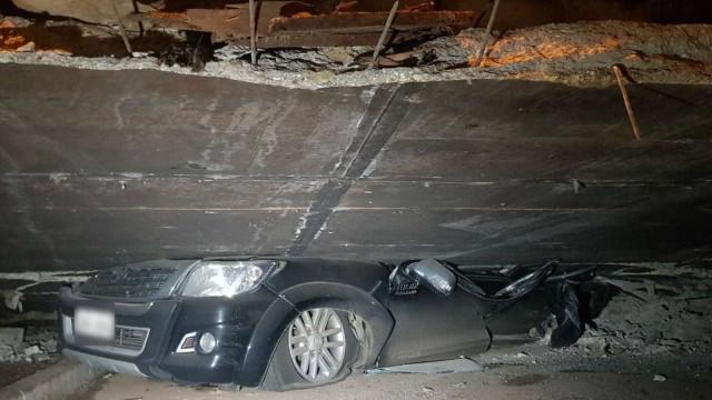 Remoção de carros de escombros após queda de viaduto é 'cena de filme'