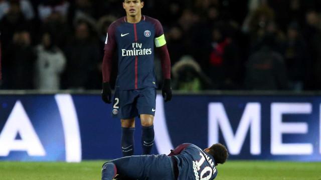 PSG confirma lesão e Neymar está fora do duelo contra Real Madrid