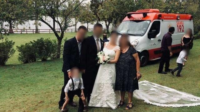 Secretaria apura ambulância do Samu em festa de casamento