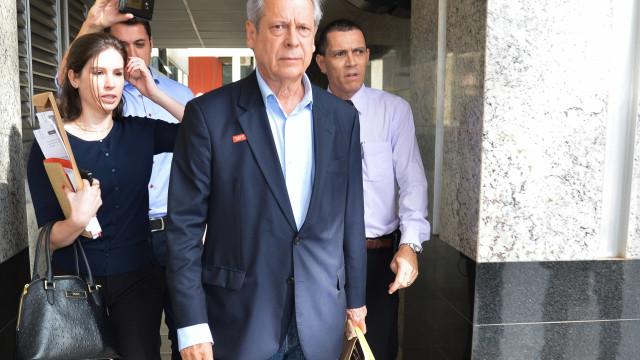 José Dirceu pede que petistas se preocupem com Lula