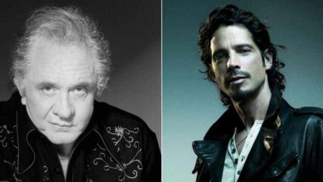 Vozes de Johnny Cash e Chris Cornell se únem em parceria póstuma; ouça