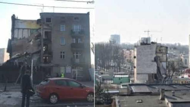 Desabamento de prédio na Polônia deixa ao menos 4 mortos e 24 feridos