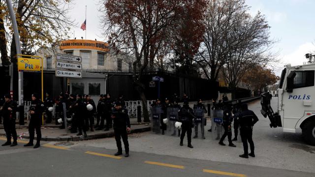 Estados Unidos anunciam fechamento de embaixada na Turquia