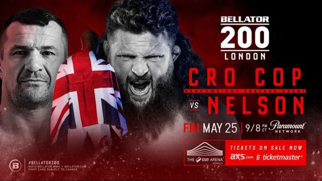Cro-Cop e Roy Nelson se enfrentarão pelo Bellator 200