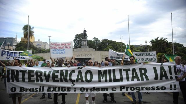Intervenção no Rio é apoiada por 69% dos brasileiros, diz pesquisa
