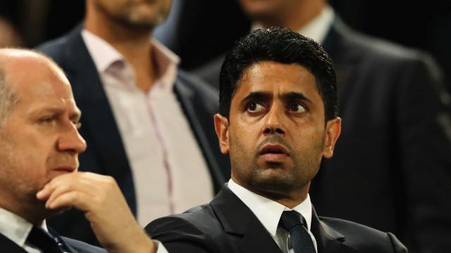 Presidente do PSG se revolta com eliminação do time na Champions