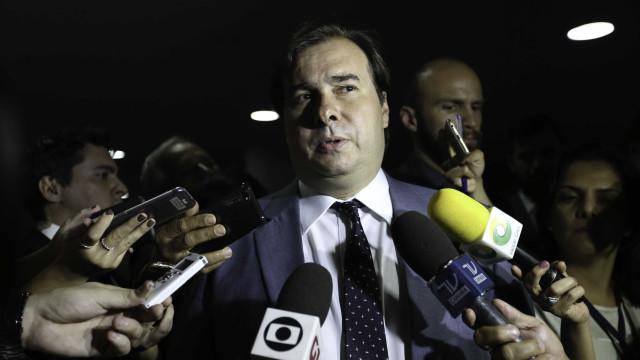 Maia lança candidatura: 'Tenho o sonho de ser presidente do Brasil'
