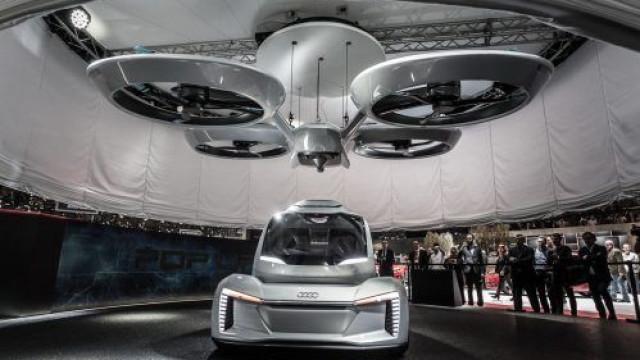 Veja imagens da nova versão do veículo voador da Airbus, o Pop.Up Next