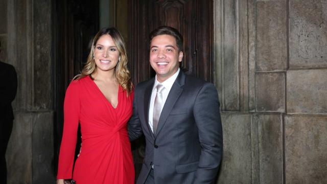 Wesley Safadão revela na web nome de seu 2º filho com Thyane Dantas
