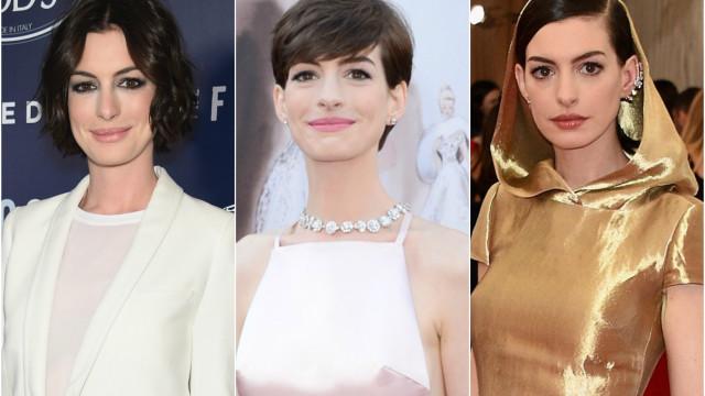 Confira o estilo da atriz Anne Hathaway em 30 looks