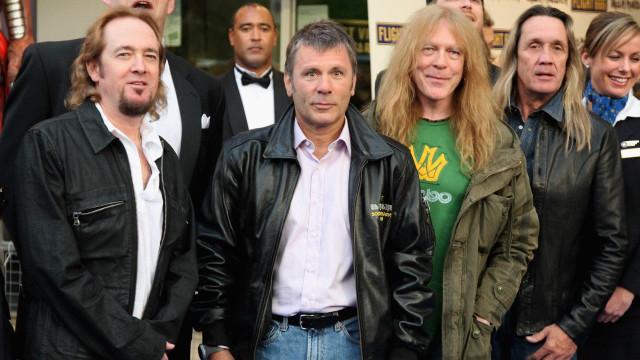 Iron Maiden paga R$ 450 mil para encerrar processo de plágio