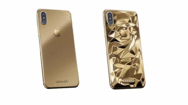 iPhone X dourado feito de ouro 24K pode custar mais de R$ 16 mil