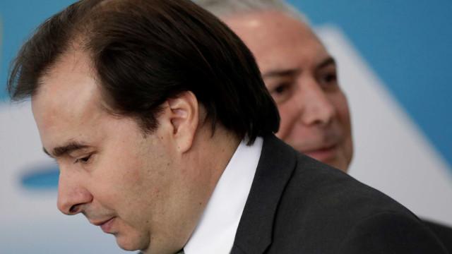 Não serei refém do MDB, diz Rodrigo Maia em Mato Grosso