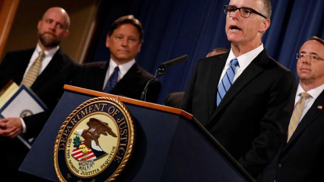 Procurador-geral dos Estados Unidos demite número 2 do FBI