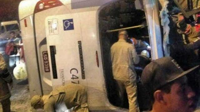 Acidente com ônibus deixa 21 pessoas feridas na Cidade de Deus