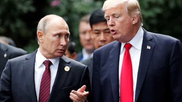 'Putin e Trump nunca permitirão um conflito armado', diz ministro russo