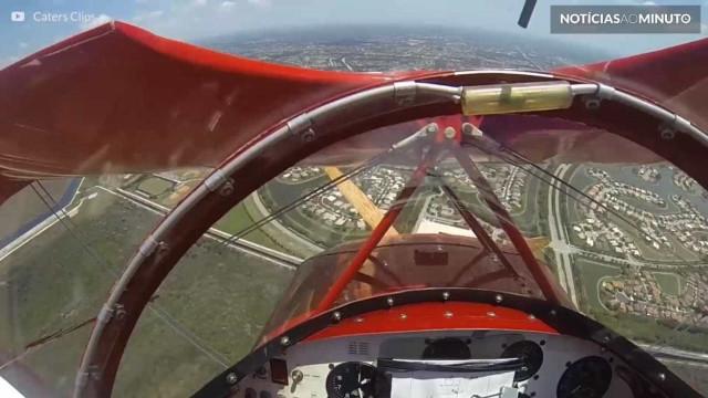 Pânico no ar: motor de avião falha durante voo nos EUA