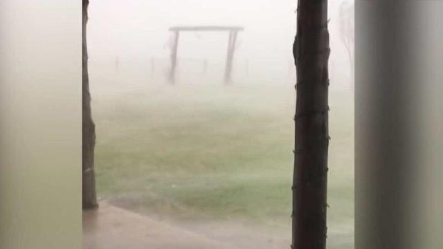 Fortes tempestades atingem o Texas