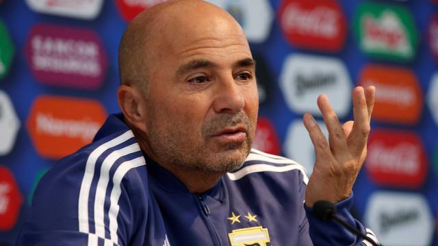 Sampaoli passa responsabilidade: 'Equipe é mais de Messi do que minha'