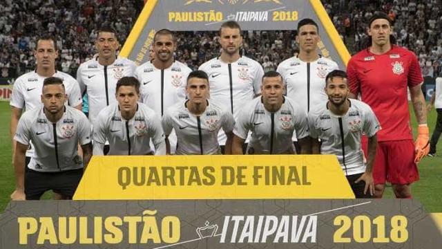 Corinthians resolve no 1º tempoe enfrentao São Paulo na semi