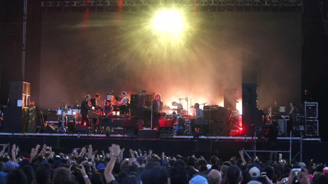 LCD Soundsystemfaz show histórico no Lollapalooza