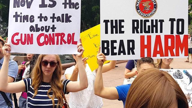 Apoio a controle de armas cresce às vésperas de protesto nos EUA