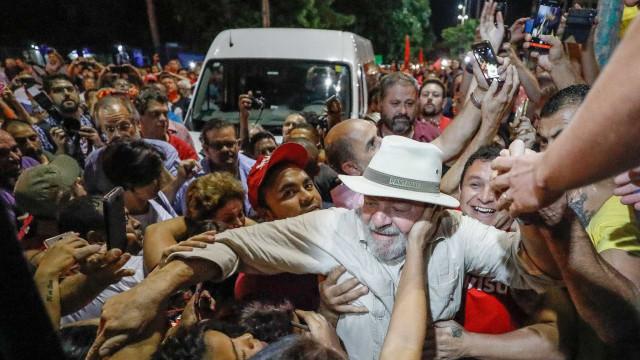 Lula diz ter certeza de que não vai ser preso