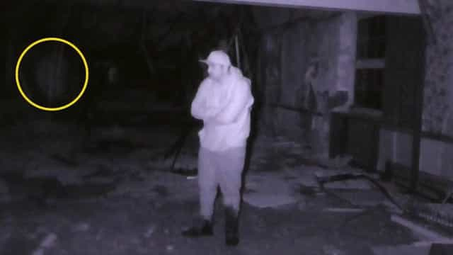 Vídeo flagra suposto fantasma de ex-soldado