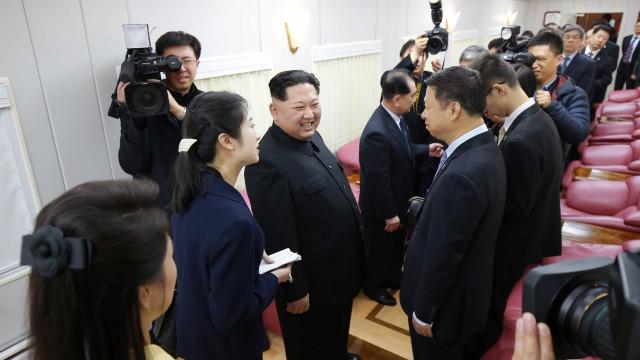 Kim Jong-un faz visita histórica à China; veja imagens