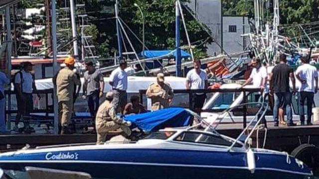 Acidente com lancha deixa 2 mortos e 2 feridos em Ilha Grande (RJ)