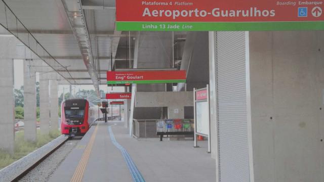 Trem direto para Aeroporto de Guarulhos, começa a operar na 3ª