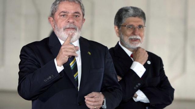 Em semana decisiva, Lula lança Celso Amorim ao governo do Rio hoje