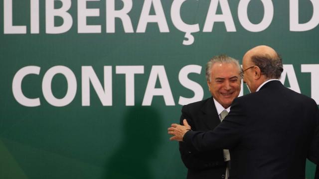 Meirelles se filia ao MDB com direito a jingle citando união com Temer