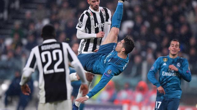 Golaço de Cristiano Ronaldo é destaque na imprensa mundial