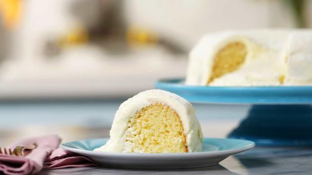 Irresistível: receita de bolo vulcão de leite ninho