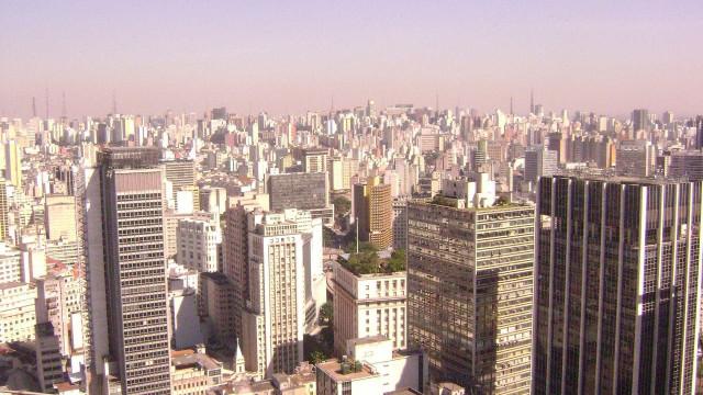 Exposição exibe pinturas da arquitetura de São Paulo