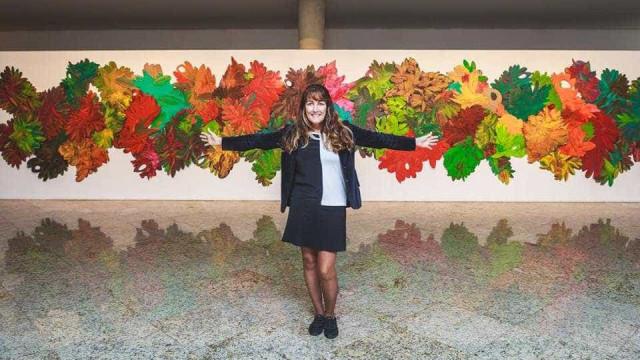 Artista que usa material reciclado expõe no Centro Cultural Correios SP