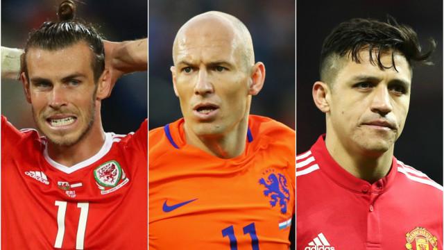 Veja os craques que estarão fora da Copa do Mundo