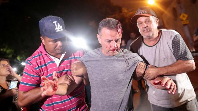 IML diz que lesão sofrida por manifestante anti-Lula é grave