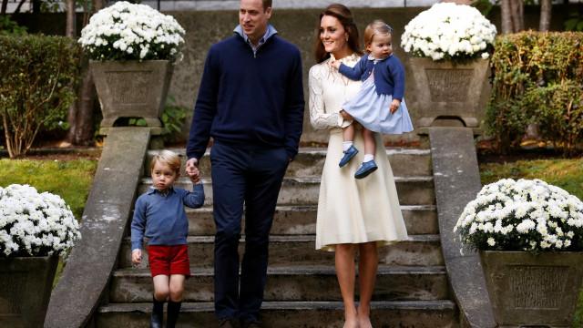 Nasce o terceiro filho do príncipe William e Kate Middleton