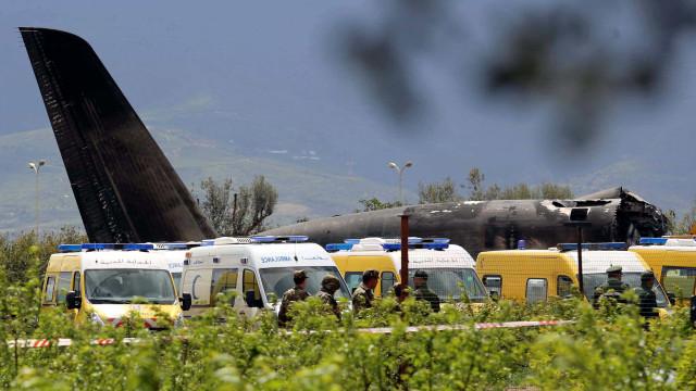 Chega a 257 o número de mortos em queda de avião na Argélia