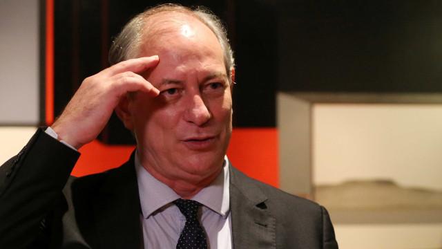 Ciro Gomes prevê 15 candidatos concorrendo à Presidência