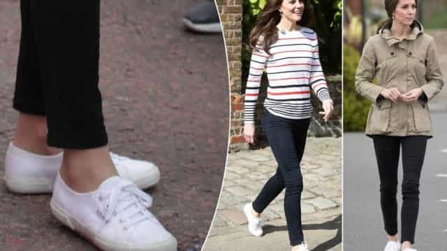 Basicão: veja qual o tênis preferido de Kate Middleton e Emma Watson